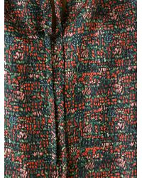 Vanessa Bruno - Multicolor Plant Print Blouse - Lyst