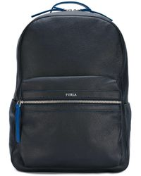 Furla - Black 'fenice' Backpack for Men - Lyst