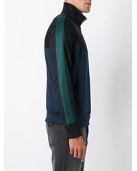 AMI - Black Half Zip Track Top for Men - Lyst