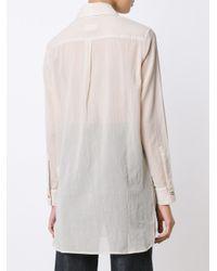 Simon Miller - White Long Shirt - Lyst