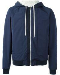La Perla | Blue 'leisure Escape' Reversible Hooded Jacket for Men | Lyst