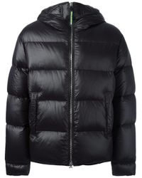 DSquared² | Black Puff Parka for Men | Lyst