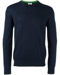 KENZO - Blue Navy Tiger Logo Pullover for Men - Lyst