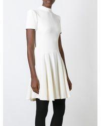 Alexander McQueen - Multicolor Cut Out Mini Dress - Lyst