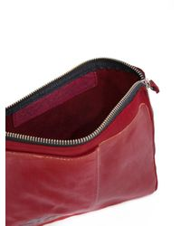 Oxs Rubber Soul - Red Zip Up Clutch Bag for Men - Lyst