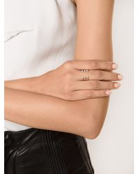EF Collection - Metallic Floating Bezel Ring - Lyst