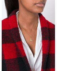 Vivienne Westwood Red Label - Metallic Orb Pendant Necklace - Lyst