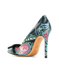 Etro | Black Platform Pumps | Lyst