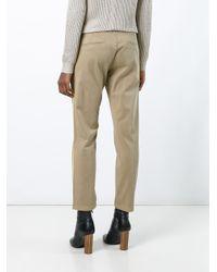 P.A.R.O.S.H. - Multicolor - 'cora' Trousers - Women - Cotton/spandex/elastane - L - Lyst