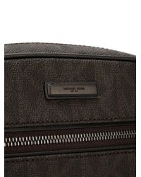 Michael Kors - Brown Jet Set Small Logo Flight Bag for Men - Lyst