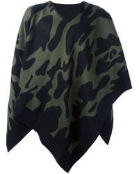 Hydrogen | Black Camouflage Cape Scarf for Men | Lyst
