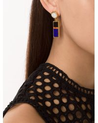 Lizzie Fortunato - Multicolor 'colorado' Column Earrings - Lyst