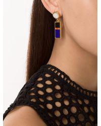 Lizzie Fortunato | Multicolor 'colorado' Column Earrings | Lyst