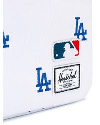 Herschel Supply Co. - White 'la Dodgers' Laptop Bag for Men - Lyst