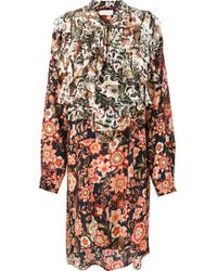 Faith Connexion | Multicolor Printed Shirt Dress | Lyst