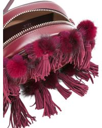 N°21 - Red No21 Tassel Detail Crossbody Bag - Lyst