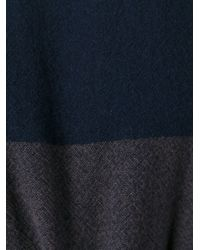 Daniela Gregis - Blue Belted Wool Dress - Lyst