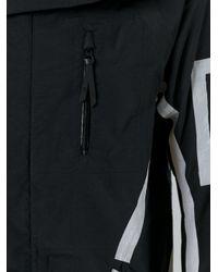 Boris Bidjan Saberi 11 | Black Reflective Tape Detail Jacket for Men | Lyst