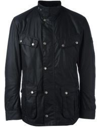 Barbour | Blue 'duke' Jacket for Men | Lyst