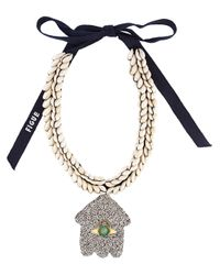 Figue | Multicolor 'goddess' Necklace | Lyst