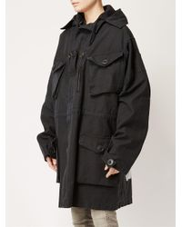 Faith Connexion - Black 'do It' Print Coat - Lyst
