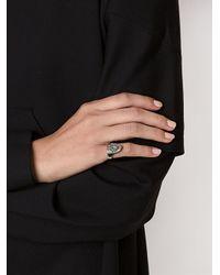 Nicopanda - Metallic 'nico' Nail Ring - Lyst