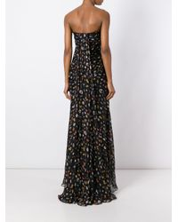 Alexander McQueen - Black Obsession Draped Bustier Gown - Lyst