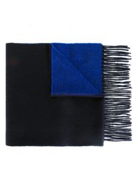 PS by Paul Smith | Blue Bicolour Scarf for Men | Lyst