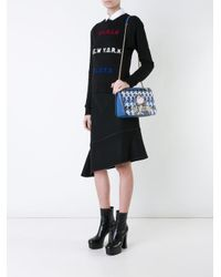 Love Moschino | Blue Chain Strap Shoulder Bag | Lyst