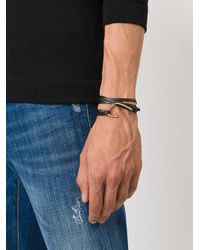 Miansai | Black Hook Wrap Bracelet for Men | Lyst
