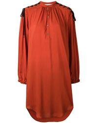 A.F.Vandevorst - Orange Flared Dress - Lyst