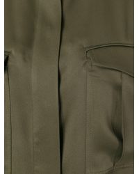 Haider Ackermann - Green Cargo Pocket Shirt - Lyst