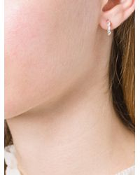Bea Bongiasca - Metallic Curved Rice Detail Earrings - Lyst