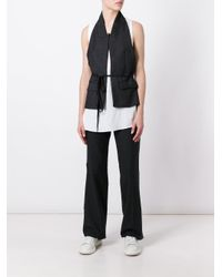 Dondup - White Layered Vest Tank - Lyst