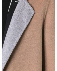 Tagliatore - Brown Patch Pockets Mid Coat - Lyst