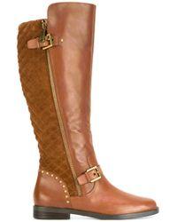 Lauren by Ralph Lauren | Brown Knee High Boots | Lyst