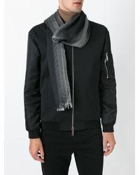 Dior Homme - Black Striped Scarf for Men - Lyst