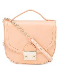Loeffler Randall - Natural Mini Saddle Bag - Lyst