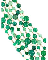 Rosantica - Green Multiple Layers Long Necklace - Lyst