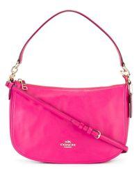 COACH | Pink 'chelsea' Shoulder Bag | Lyst