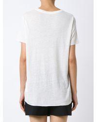 Osklen - White Printed T-shirt - Lyst