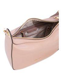 Michael Kors - Pink Eyelets Embellished Shoulder Bag - Lyst