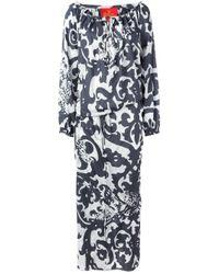 Vivienne Westwood Red Label | Gray Arabesque Print Maxi Dress | Lyst
