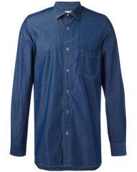 Paul Smith | Blue Denim Shirt for Men | Lyst