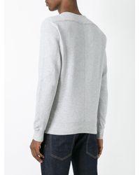 DIESEL - Gray Crew Neck Sweatshirt for Men - Lyst