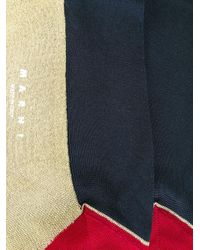 Marni - Blue Knee Length Socks - Lyst