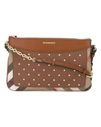 Burberry | Brown 'nova Check' Cross Body Bag | Lyst