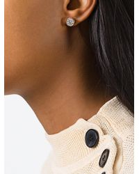 Michael Kors - Metallic Single Stone Earrings - Lyst