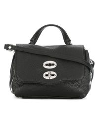 Zanellato | Black 'postina Super Baby' Crossbody Bag | Lyst
