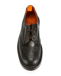 Tricker's Brown 'francis' Oxford Shoes for men